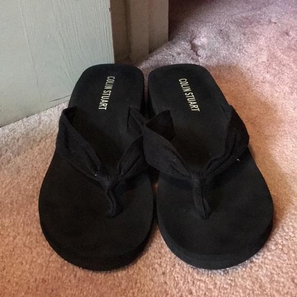 d7d166c9819fa9 Colin Stuart Shoes - ☀️COLIN STUART WEDGED FLIP FLOPS